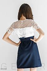 Блуза с кружевными оборками, фото 3