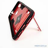Ударопрочный чехол-подставка Transformer Xiaomi Redmi Note 7 red, фото 2