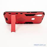 Ударопрочный чехол-подставка Transformer Xiaomi Redmi Note 7 red, фото 3