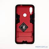 Ударопрочный чехол-подставка Transformer Xiaomi Redmi Note 7 red, фото 5