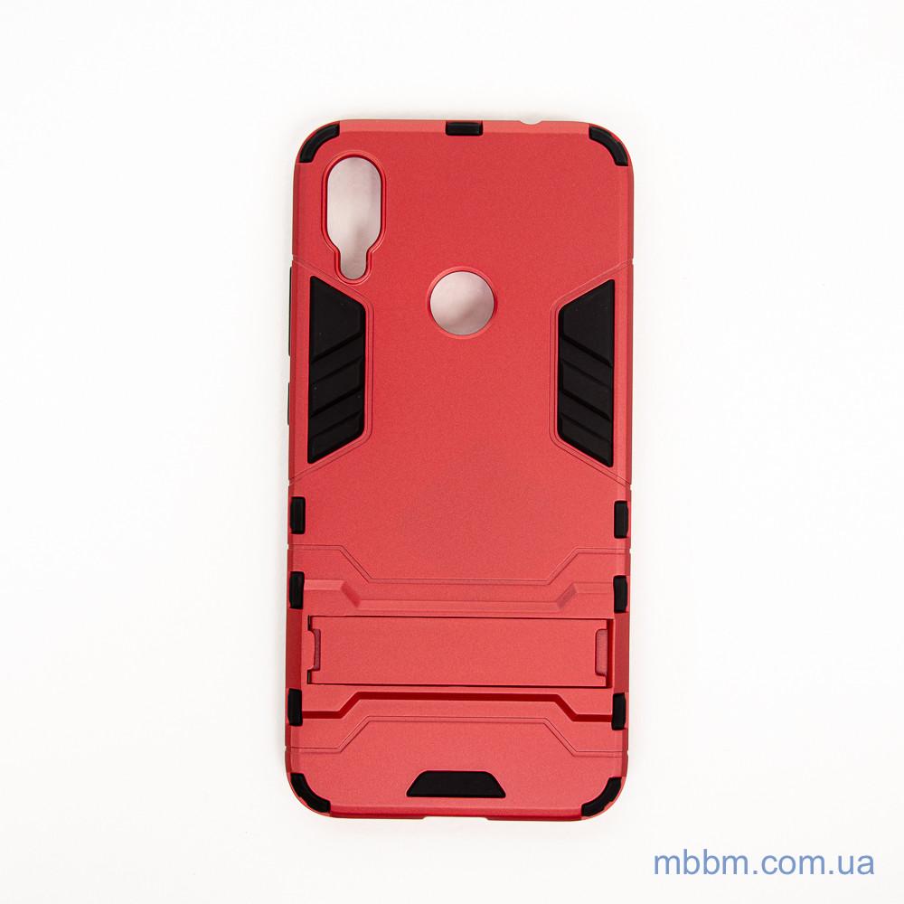Ударопрочный чехол-подставка Transformer Xiaomi Redmi Note 7 red