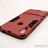 Ударопрочный чехол-подставка Transformer Xiaomi Redmi Note 7 red, фото 6