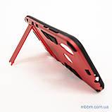 Ударопрочный чехол-подставка Transformer Xiaomi Redmi Note 7 red, фото 7