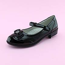 Туфли девочке черные с ремешком тм Том.М размер 35,36,38, фото 3