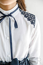 Рубашка с контрастным декором, фото 3
