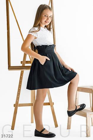 Школьная юбка в складку, фото 2