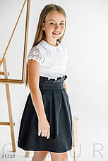 Школьная юбка в складку, фото 3