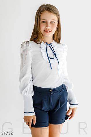 Блуза с атласной лентой, фото 2