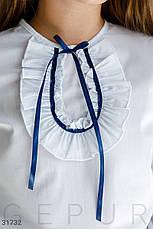 Блуза с атласной лентой, фото 3