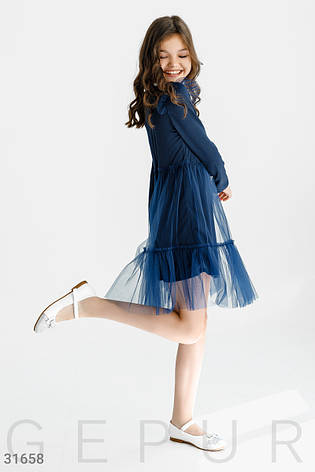 Лаконичное трикотажное платье, фото 2