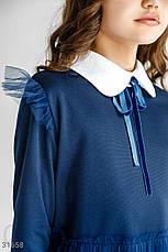 Лаконичное трикотажное платье, фото 3