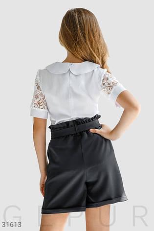 Классические шорты для девочки, фото 2