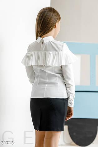 Блуза с эффектной оборкой, фото 2