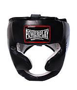 Боксерский шлем тренировочный PowerPlay 3065 Черный, фото 3