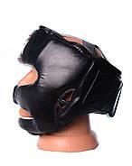 Боксерский шлем тренировочный PowerPlay 3065 Черный, фото 4