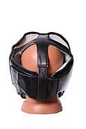 Боксерский шлем тренировочный PowerPlay 3065 Черный, фото 5
