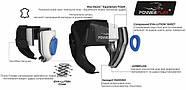 Боксерский шлем тренировочный PowerPlay 3065 Черный, фото 8