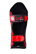 Защита голени и стопы PowerPlay 3032 Черно-Красный S / M / L / XL, фото 3