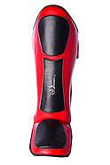 Защита голени и стопы PowerPlay 3032 Черно-Красный S / M / L / XL, фото 4