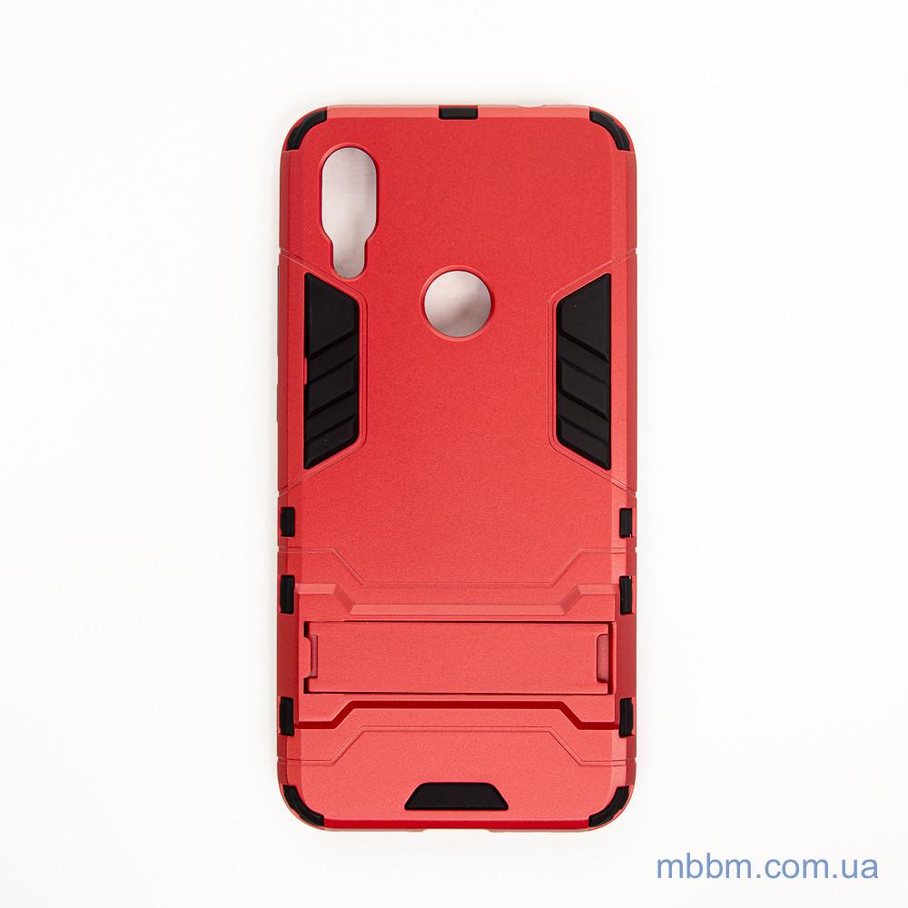 Ударопрочный чехол-подставка Transformer Xiaomi Redmi 7 red