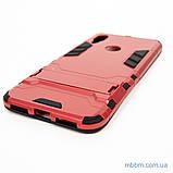 Ударопрочный чехол-подставка Transformer Xiaomi Redmi 7 red, фото 2