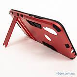Ударопрочный чехол-подставка Transformer Xiaomi Redmi 7 red, фото 4