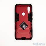 Ударопрочный чехол-подставка Transformer Xiaomi Redmi 7 red, фото 6