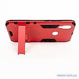 Ударопрочный чехол-подставка Transformer Xiaomi Redmi 7 red, фото 3