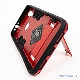Ударопрочный чехол-подставка Transformer Xiaomi Redmi 7 red, фото 5