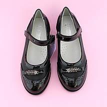 Туфли девочке Черные Бантик тм Том.М размер 36,38, фото 2