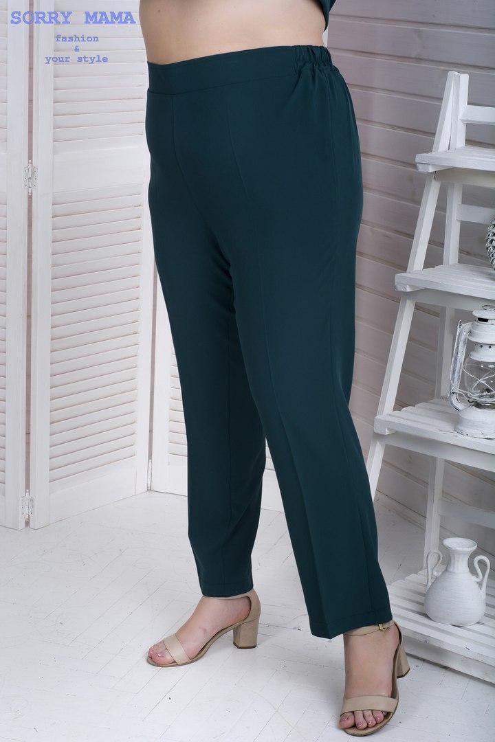 Женские брюки с высокой посадкой с 48 по 98 размер