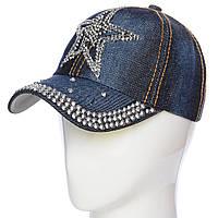 Стильная детская  джинсовая кепка Звезда, фото 1