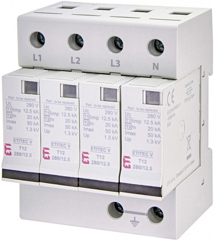 Ограничитель перенапряжения ETITEC V T12 280/12,5 (4+0)