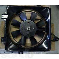 Диффузор радиатора Заз 1102 1103 таврия славута нового образца в сборе