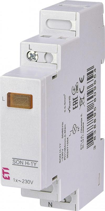 Однофазный индикатор наличия напряжения SON H-1Y (1x желтый LED)