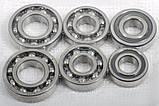 Комплект подшипников КПП Заз 1102 1103 таврия славута нового образца (42305 со втулкой) (6 штук), фото 3