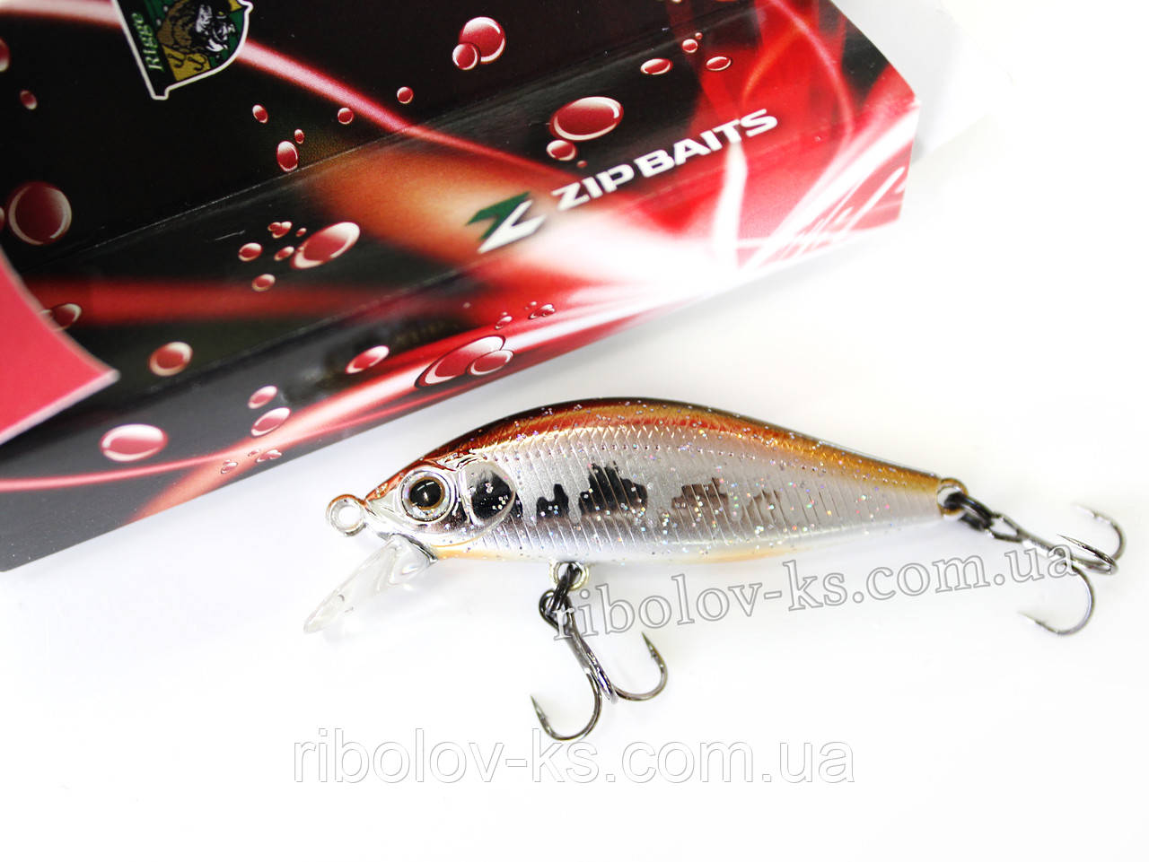 Воблер ZipBaits Rigge Flat 45S #213