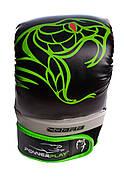 Снарядные перчатки PowerPlay 3038 Черно-Зеленые S / M / L / XL, фото 2