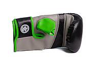 Снарядные перчатки PowerPlay 3038 Черно-Зеленые S / M / L / XL, фото 4