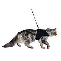 Trixie Softgeschirr mit Leine шлейка мягкая с поводком для кошек 24-42см