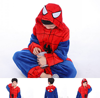 ✅ Детская пижама Кигуруми Человек-паук 140 (на рост 138-148см)