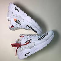 Женские кроссовки Nike Air Huarache Off White белые 36