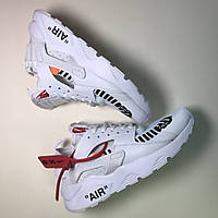 Мужские кроссовки Nike Air Huarache Off White белые 41