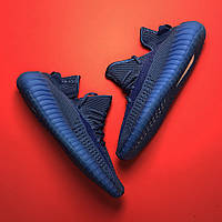 Женские кроссовки Adidas Yeezy Boost 350 Blue синие  36