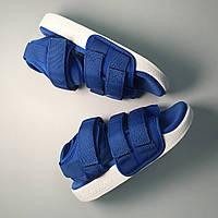 Женские сандали Adidas Sandals Red White синие, фото 1