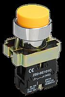 Кнопка управления LAY5-BL51 без подсветки желтая 1з ИЭК