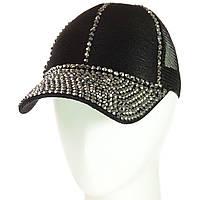 Бейсболка женская 42018-6 черный-металлик, фото 1