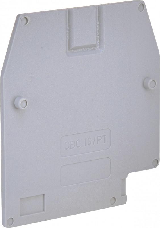 Замыкающая крышка ESC-CBC.16/PT (для ESC-CBC.16, серая)