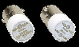 Лампа сменная зеленая матрица/230В ИЭК