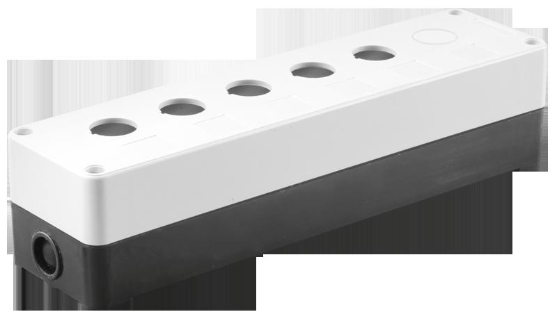 Корпус КП105(6) для кнопок 5(6)мест белый ИЭК
